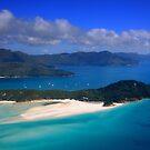 Whitehaven Beach, Great Barrier Reef by Jill Fisher