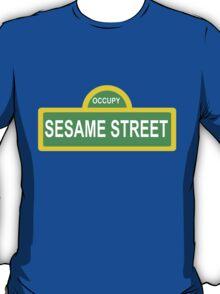 Occupy Sesame street T-Shirt