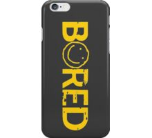 Sherlock Bored Smiley Print iPhone Case/Skin