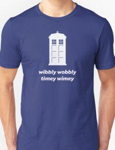 Wibbly Wobbly Timey Wimey Shirt (Dark Colors) T-Shirt