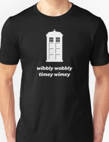 Wibbly Wobbly Timey Wimey Shirt (Dark Colors) T-Shirt
