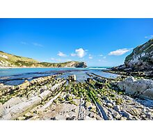 Lulworth Cove, Dorset, UK Photographic Print