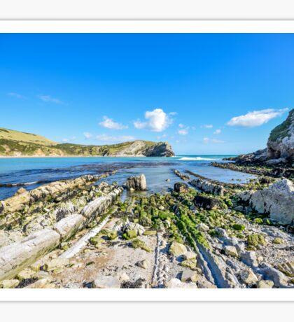 Lulworth Cove, Dorset, UK Sticker