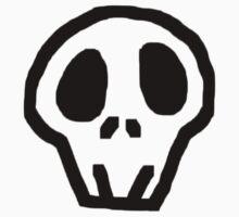Weird Skull Baby Tee