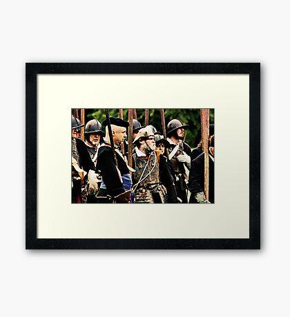 The Brave Framed Print