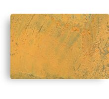 Mustard Yellow Canvas Print