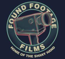 Found Footage Films Kids Tee
