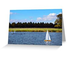 Toy Boat Greeting Card