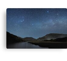 Tidal River Canvas Print