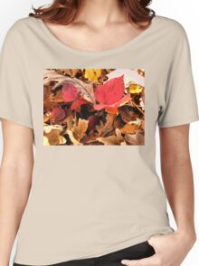 """A Closer Look at Fall""... prints and products Women's Relaxed Fit T-Shirt"