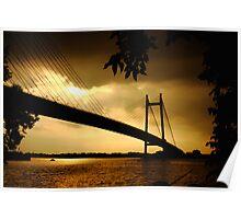 Ganga River Poster