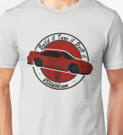Build it. Tune it. Drift it. Unisex T-Shirt