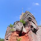 Castle of Lanstuhl. by cassidyfritts