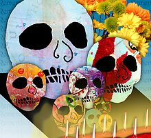 Day of the Dead Ofrenda...remembering by motherhenna