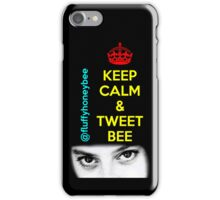 Keep Calm & Tweet Me iPhone Case/Skin