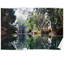 Jordan river #1 Poster