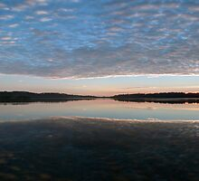 The Gold Of The Day - Narrabeen Lakes Sydney - The HDR Experience by Philip Johnson