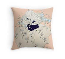 sprouting thoughts. Throw Pillow