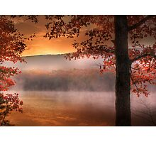 Autumn Atmosphere Photographic Print