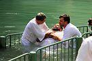 Baptised in the Jordan river #4 by Moshe Cohen