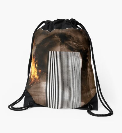 Eyes Without A Face Drawstring Bag