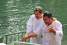 Baptised in the Jordan river #8 by Moshe Cohen