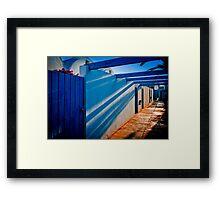 Shadows in Tunisia Framed Print