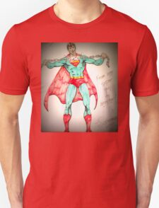 Superman - Authentic One Of A Kind Design! T-Shirt