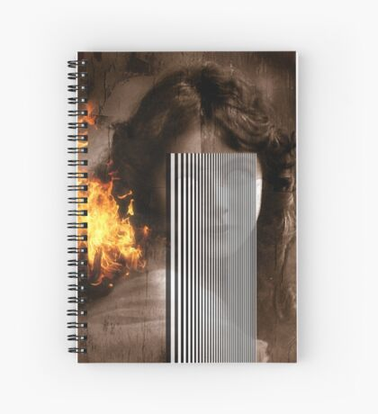 Eyes Without A Face Spiral Notebook