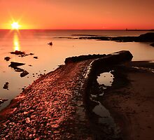 Cullercoats Sunrise by Harry Purves