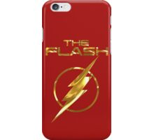 'Flash' through life with this cool design. iPhone Case/Skin