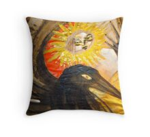crow field 14 Throw Pillow