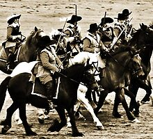 Cavalry Charge by GlennB