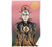 High Priest of Punk Cartoon Poster