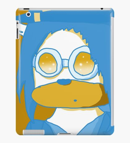 me in Pyrovision goggles 2 iPad Case/Skin