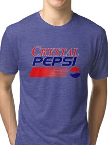 Crystal Pepsi Tri-blend T-Shirt