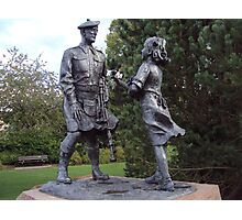 Highland Division War memorial Photographic Print