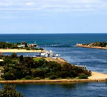 Lakes Entrance - Australia by Chris Chalk
