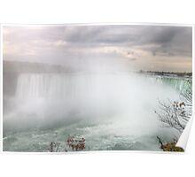 Niagara Falls - Ontario side Poster