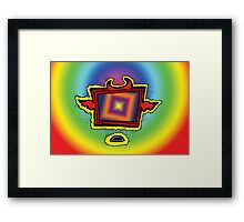 Kinetic Tv Framed Print
