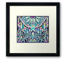 Parrot Tribe Framed Print