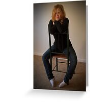 Kelly 2  Venus in Bluejeans  Greeting Card