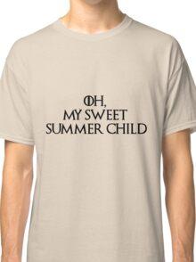 Summer Child-GOT-Black Classic T-Shirt