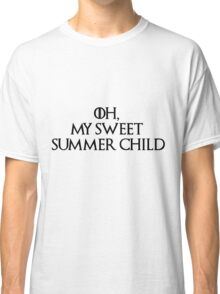 Summer Child-GOT-Black Classic T-Shirt