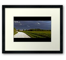 Road to the Rain Framed Print