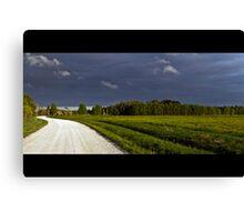 Road to the Rain Canvas Print