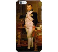 Napoleon Funny side Street Art iPhone Case/Skin