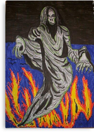 The grim reaper by GEORGE SANDERSON