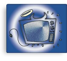 Happy Tv Canvas Print