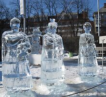 Ice sculptures-1 by lidiagould